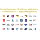 Antena tv hd uhf mas kit / mastil / cable coaxial